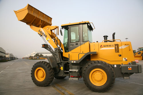 chinese wheel loader, LG936 wheel loader made by SDLG
