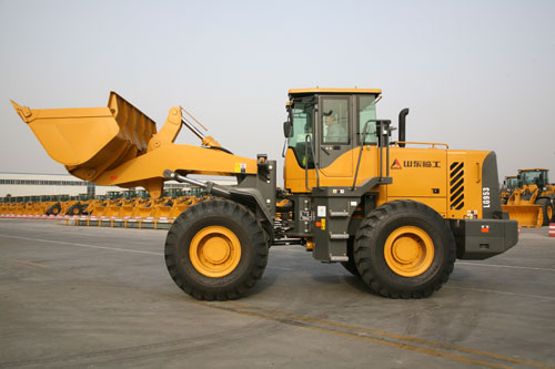 chinese wheel loader, LG953 wheel loader made by SDLG